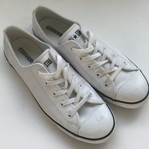 CONVERSE Chuck Taylor All Star Leather White 10